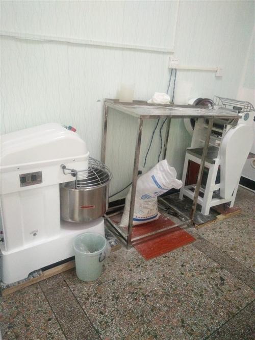 本人有打面机,煮面机,和面机出售,用个半个月,17370721589微信同号