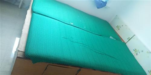 單人木頭床,每節床箱都帶門,可以存放東西,一百五元一張,兩張一起要,送過上門,限阿榮旗街里,適合個人...