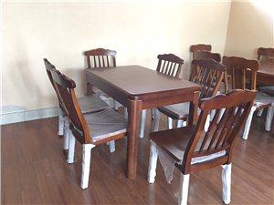 全新出口家具尾�危�全��木餐桌椅,市��r五折售13365436687