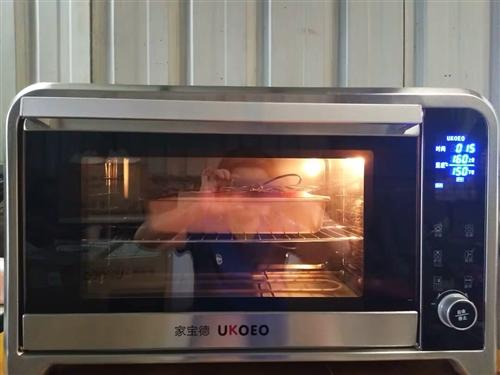 智能家用多功能烘培烤箱75L,电子控温,几乎全新,买回来没怎么用