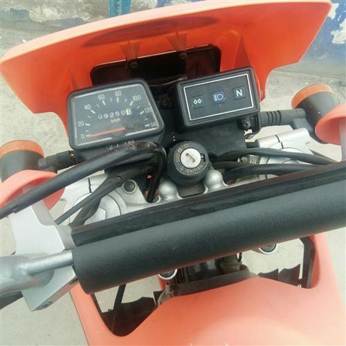 9成新手续保险齐全嘉陵越野摩托车200cc