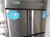 因为不想搞餐饮双门冰柜,换冰柜。