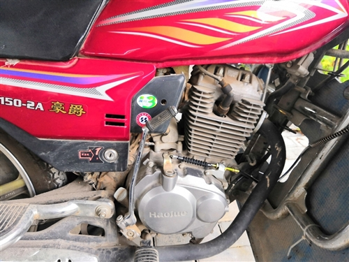 出售自用的豪爵150我在田王上班,車在灞橋田王,我的摩托車是上下班兒用的代步工具。沒跑過...
