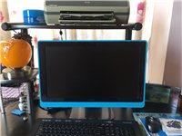 閑置的9成新戴爾電腦,帶無線鼠標,無線鍵盤,打印機,電腦桌,椅