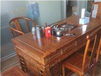 正宗南榆木1.8米茶桌,99新