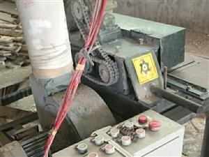 7公分单条模板刨锯,因转行   现出售     工作时间不超100小时    机器在临清
