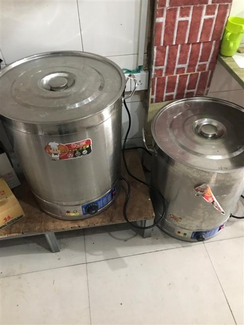两个保温桶可以煮面 蒸包子 全新的