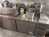 1.8x0.8x0.8不銹鋼操作臺冰柜