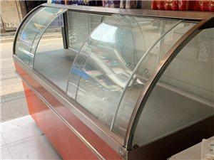 低价处理!!!常温柜面点包点凉菜柜2个 尺寸:210×70×135    130×70×135   ...