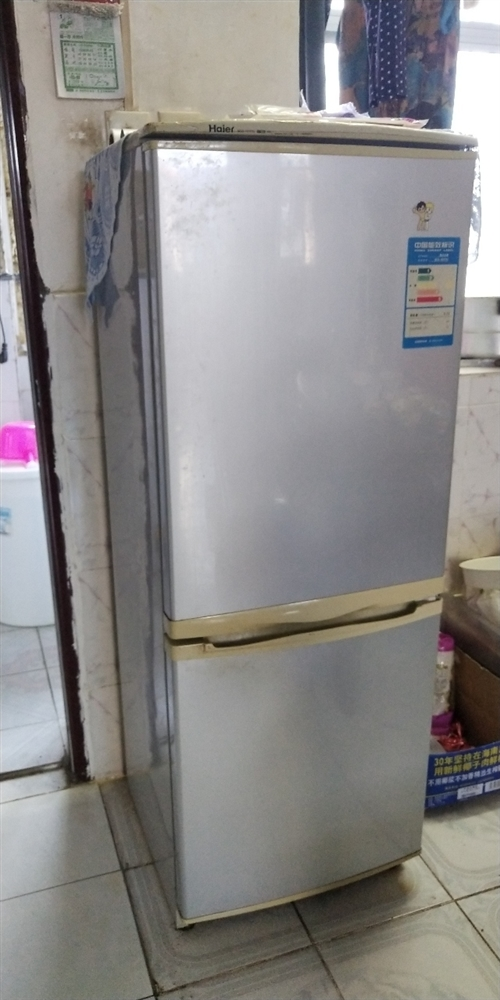 海尔冰箱,容量150升,地址那大市区第一人民医院内家属楼