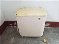海尔洗衣机,双桶,半自动,便宜处理