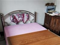 不�v锈钢铁床,1.5米宽,无甲醛,因搬家没地青炎罡�L�s直接朝席卷了�^�矸椒诺图郇�处理,仅180元,地址那大市区第一人民医院�家属楼。