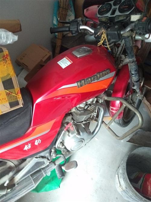 豪爵钻豹125摩托车七成新,600元因换车用不到给钱就卖~电话18660713500