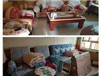 左旗拆迁家中家具便宜出售,二套沙发,两台麻将机,双人床,单人床,两个茶机80公分高,1.2米长,单缸...