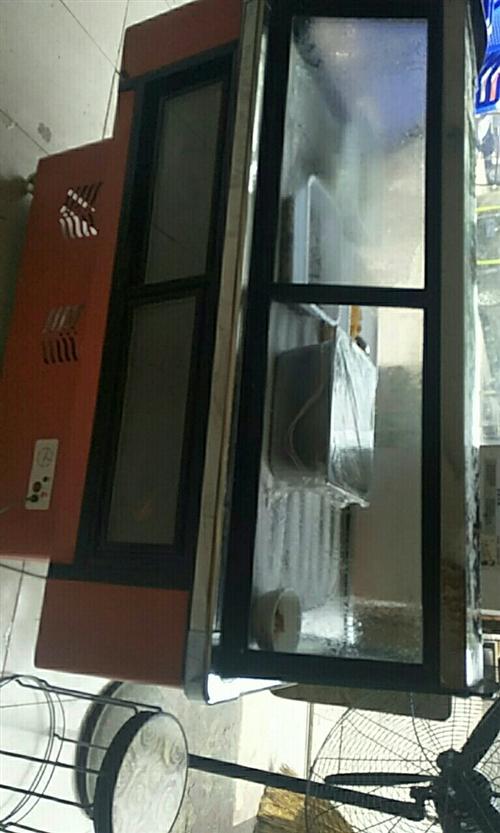 本人因为饭店不做了,现有一个九成新冷鲜柜出售,有意者面谈,电话18221753816   非诚勿扰...