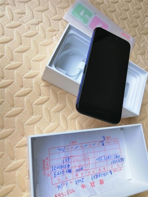 苹果7九成新128g。盒子发票还在