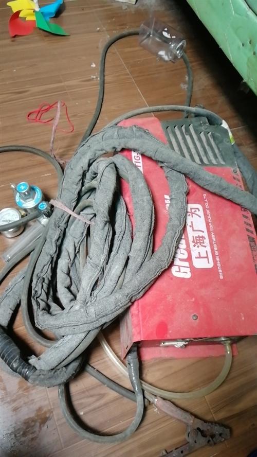 本人多余閑置電焊氬弧焊雙用焊機,便宜處理