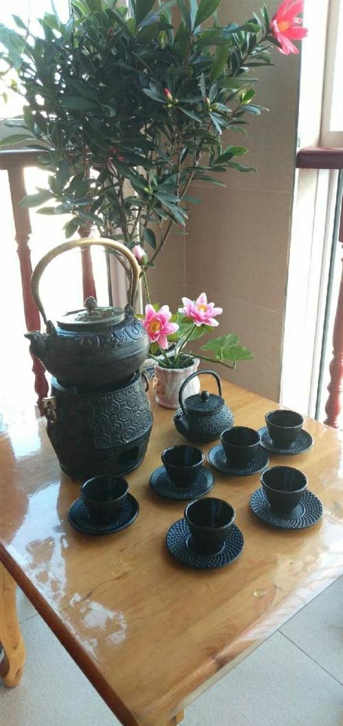 2019新款户外碳炉功夫茶酒精炉煮茶炉茶具铸铁壶碳炉家用木炭
