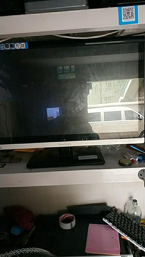 临泉出售二手24寸一体机电脑,配置g3220  内存4g  主板h81 硬盘500g  成色新  无...