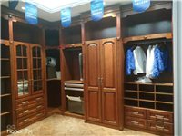 此样品衣柜出售,全新全实木衣柜,现在低价出售,转角衣柜2米??5米??2.8高
