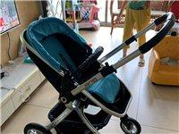 Gubi高景觀嬰兒推車 8成新 限自提 可坐可躺 雙向推 防震