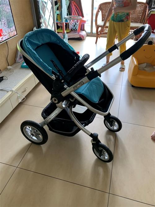 Gubi高景观婴儿推车 8成新 限自提 可坐可躺 双向推 防震