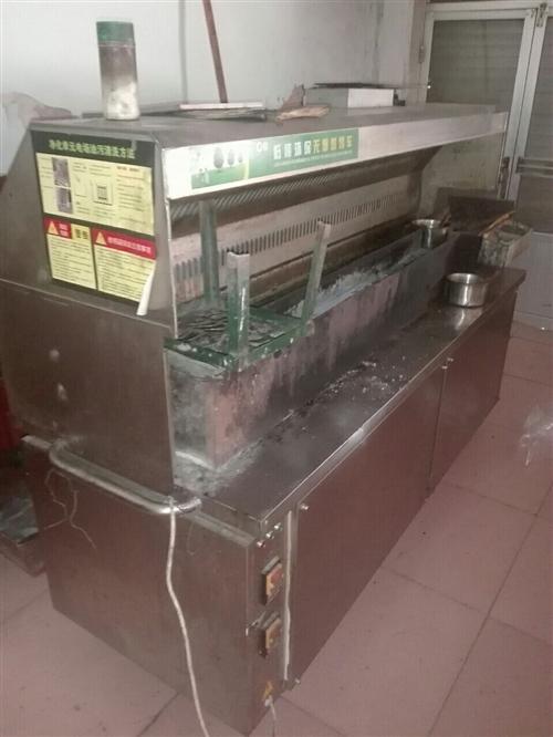 现有烧烤设备一整套,还有一个燃气电饼铛处理地址在吕艺镇,电话?15065234498
