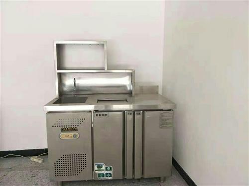 9层新水吧台  带冰柜