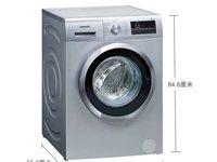 低价出售洗衣机               现手里有一台全新的西门子8KG全自动滚筒洗衣机,型号...