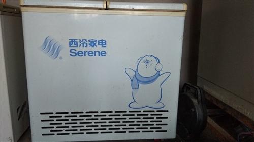 闲置西冷冰柜  178L 冷藏冷冻两用