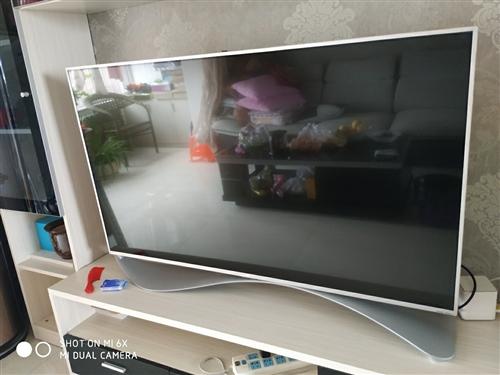 乐视超级电视X55,55英寸超级智能电视,语音遥控,赠送八年乐视会员,到2021年到期!屏幕有一竖道...