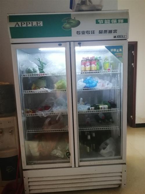 雙開門冷藏展示柜,8.9成新,有要的可以聯系我!