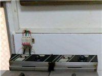低價出售漢堡店所有設備及技術,包括雙缸炸爐,烘焙機,烤箱,操作臺,制冰機,微波爐,冰柜。
