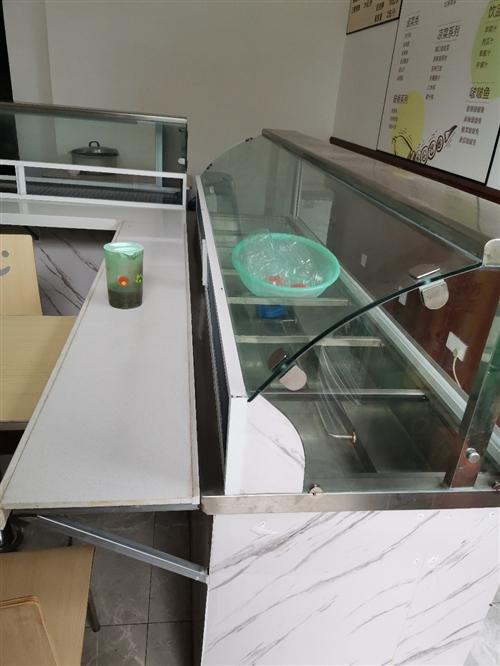 展示台,带灯,带防蚊网,符合食品要求,8层新,因餐厅升级用不到所以转让
