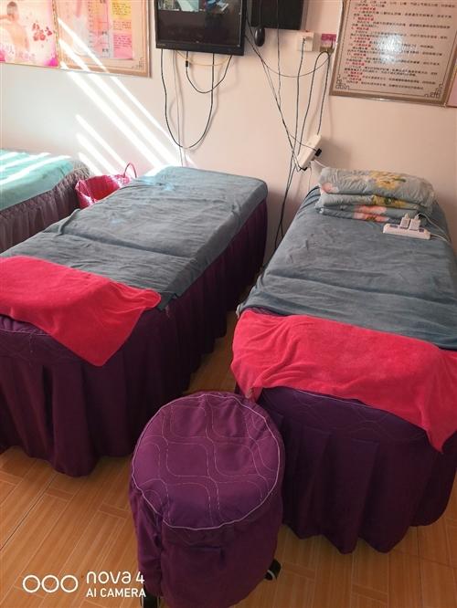 6個腿的美容床,原價230一個剛用沒一個月,現150一個不帶床罩vv13933298733
