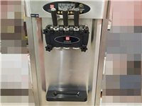 冰淇淋机   三档三色   可送甜筒杯和冰激凌粉  九成新   价格可商量