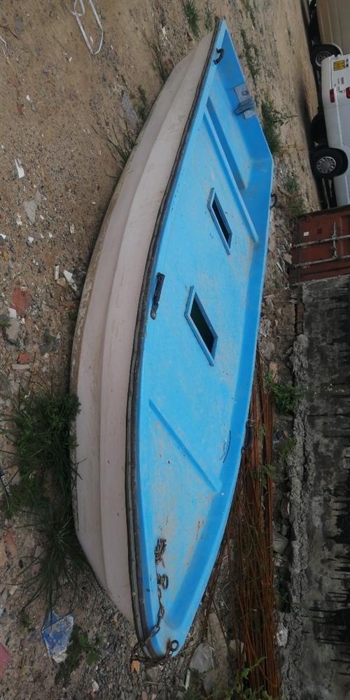 休閑觀光釣魚路亞船出售4.3X1.3X0.6,帶活水艙,有意者聯系