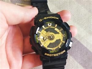 卡西欧黑金手表,李现同款,官方原价1490,我在西安专柜熟人700买的,戴了两个多月,299出售,有...