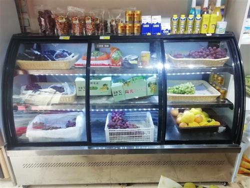 刚买两个月不到的保鲜柜,保鲜制冷效果超级好  长1.8m高1.3米,三开门的非常实用