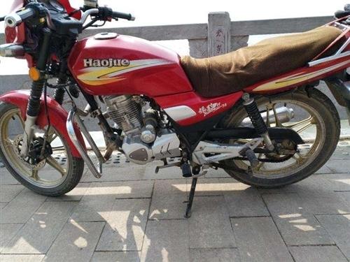 豪爵摩托车,有牌保险刚买,低价出售,过户