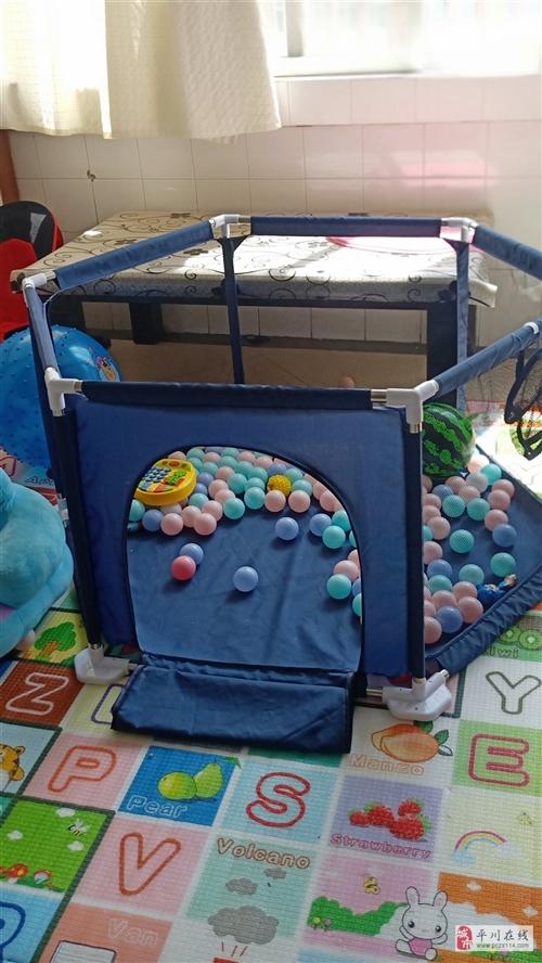 兒童防護圍欄加大 帶200個海洋球 買來不到一個月,寶寶不愛玩 買來100多,現50出  同城自...