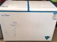 美的单温冷冻柜,265升容量,寻乌环城西路大风车幼儿园对面