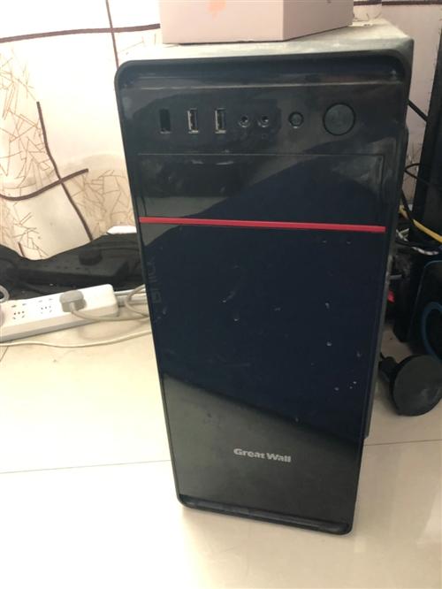个人组装台式电脑一台,基本上是全新,去年开店的时候买的,没有咋用过,配?#27599;?#22270;,办公,个人上网用没有问...