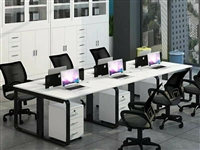 因转行,办公桌四人位(400元)、吊扇两台(100元一台)便宜处理,都九成新,使用不到一年,可单品出...