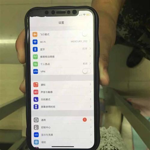 iphone x 256g 银色美版三网通4g 内屏坏 箱说全,耳机充电器全原装,左上角内屏坏了,...