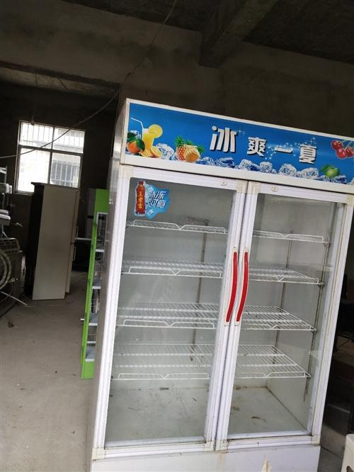 出售二手對開門保鮮柜