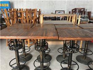 酒吧高脚凳子,桌子,沙发,架子处理