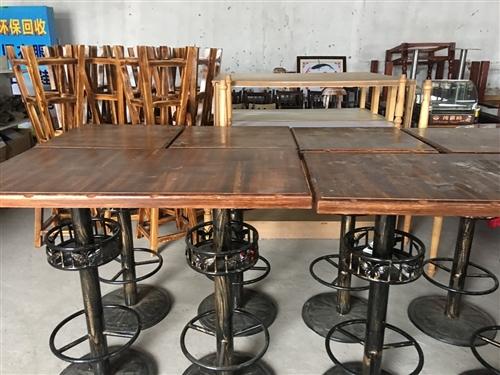 酒吧高腳凳子,桌子,沙發,架子處理