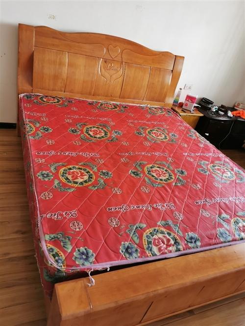 床,床头柜处理