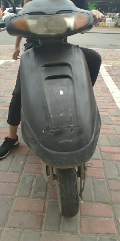 摩托车,踏板。1500